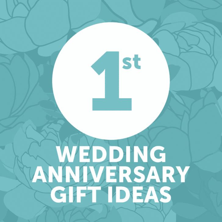 first wedding anniversary gift ideas - year 1 - affordable wedding anniversary gifts