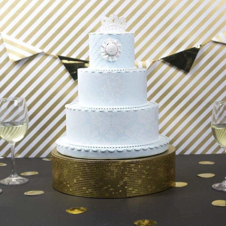 amazon wedding decor - wedding cake stand