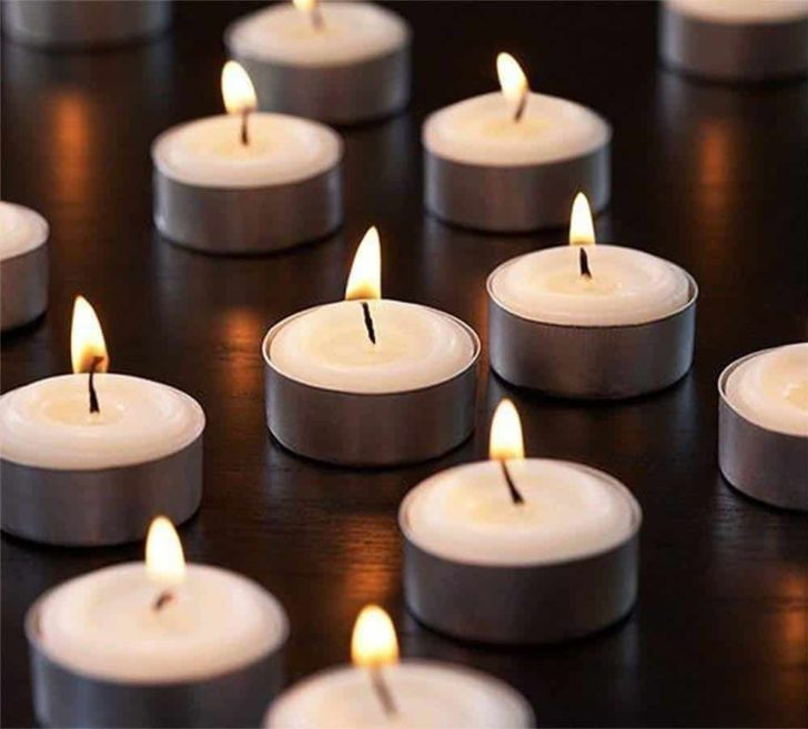 amazon wedding decor - tealight candles