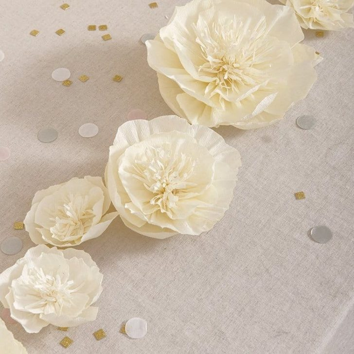 amazon wedding decor - paper flowers