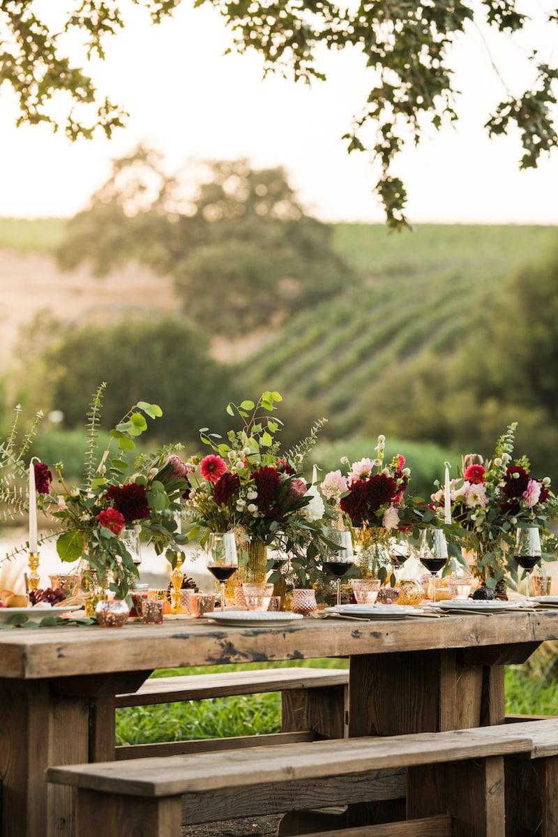Rustic Romance Wedding Decor