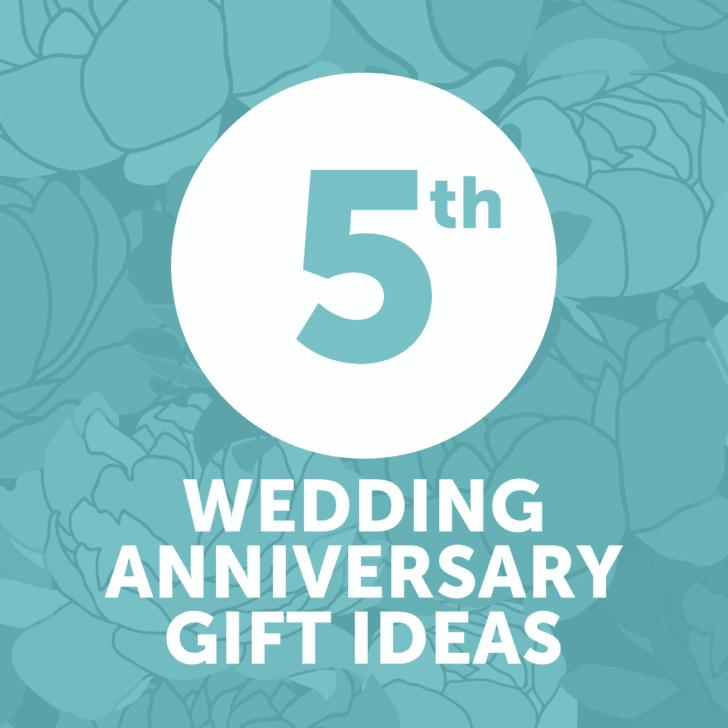 fifth wedding anniversary gift ideas - year 5