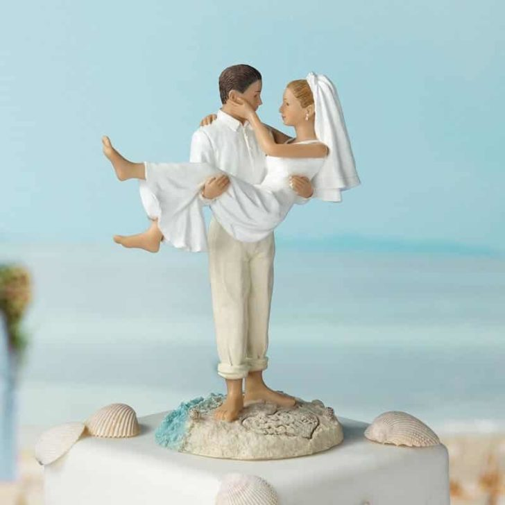 amazon wedding decor - destination wedding cake topper