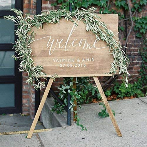 amazon wedding decor - welcome sign2