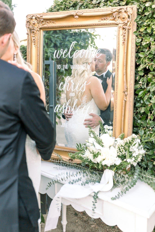 Green and Grey Garden Wedding