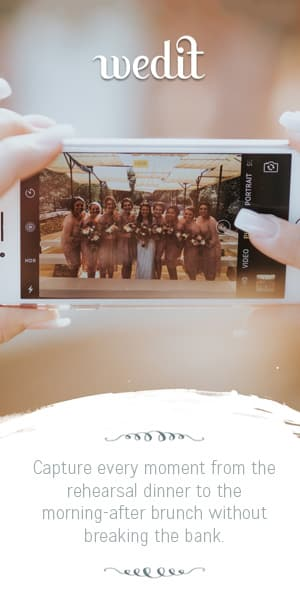 Wedit DIY Wedding Videography - Affordable Wedding Videography Alternative