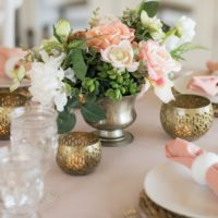 Cameron Centerpiece - Something Borrowed Blooms