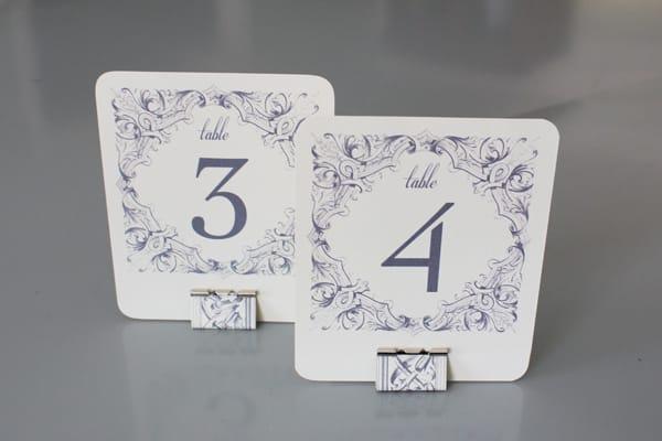 DIY Binder Clip Table Number DIY