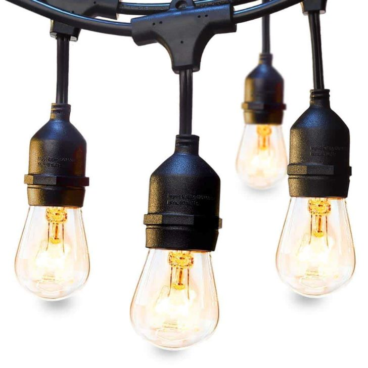 amazon wedding decor - edison bulb string lights