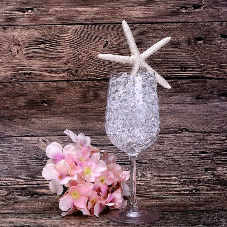 amazon wedding decor - water beads