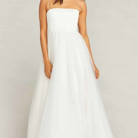 Palace Tulle Wedding Dress