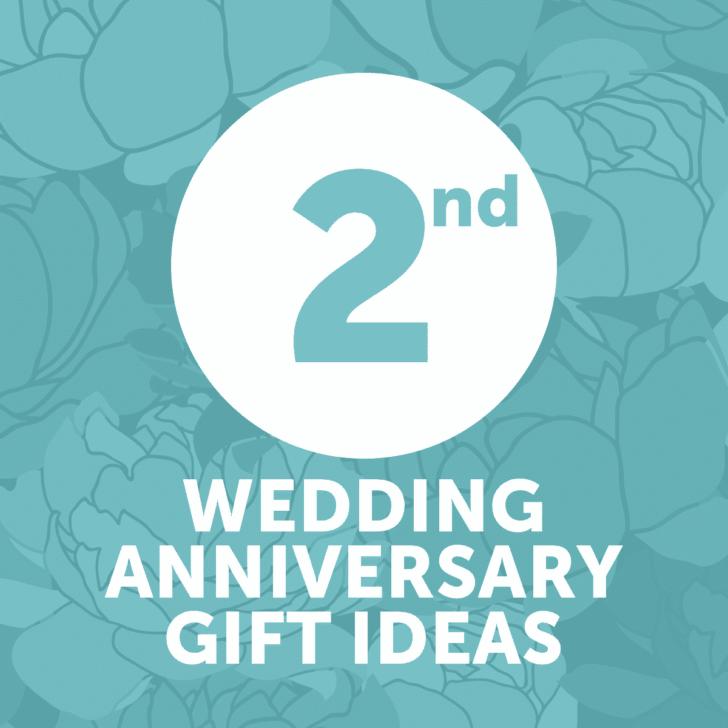 second wedding anniversary gift ideas - year 2 - affordable wedding anniversary gifts
