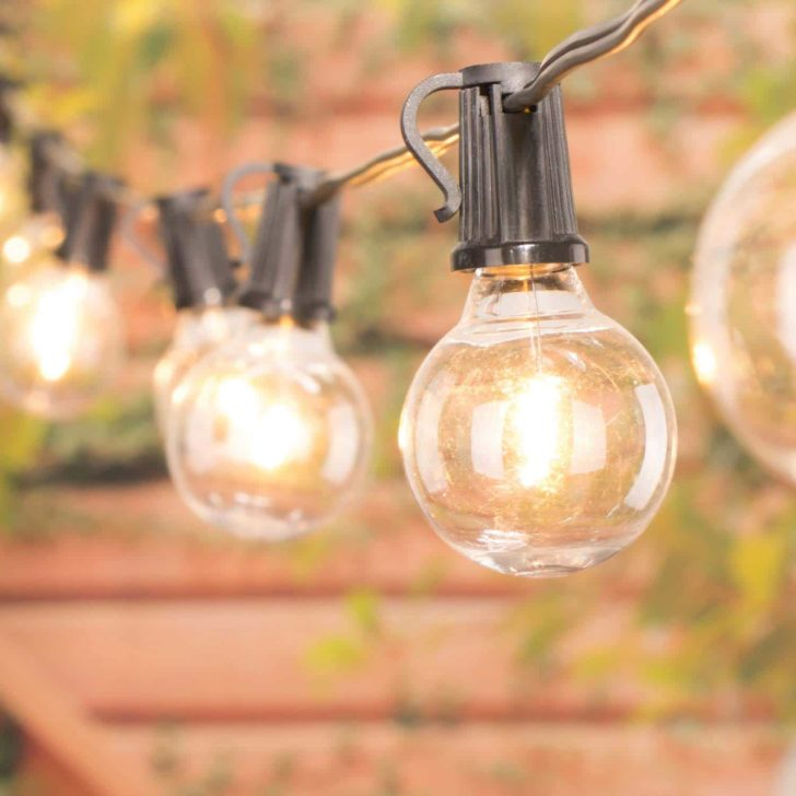 amazon wedding decor - globe string lights