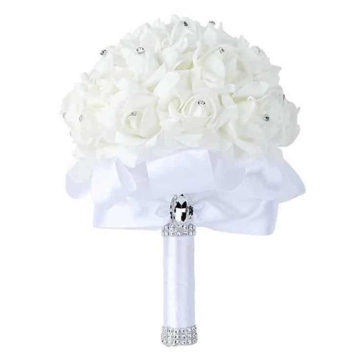 amazon wedding decor - artificial wedding bouquet