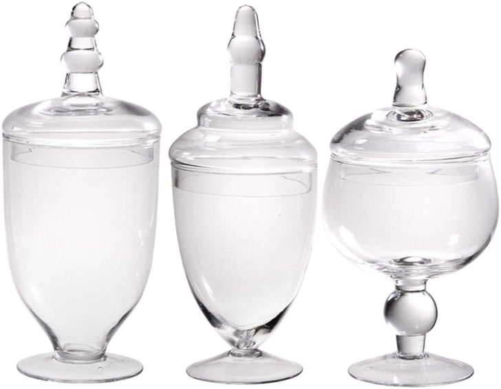 amazon wedding decor - apothecary jars