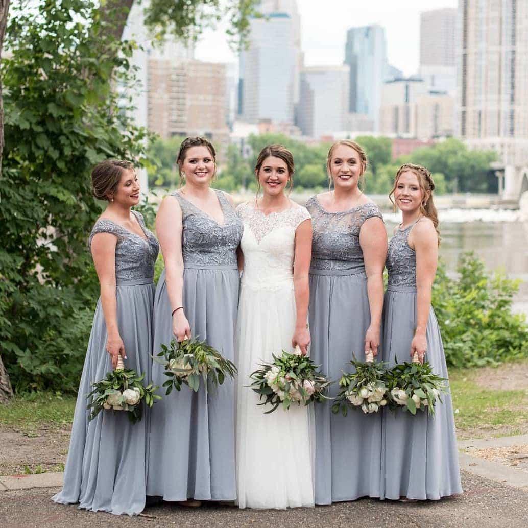 kennedyblue bridesmaids dresses