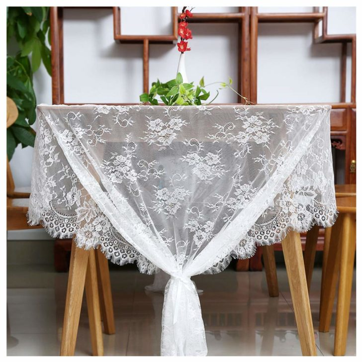 amazon wedding decor - lace table cloth