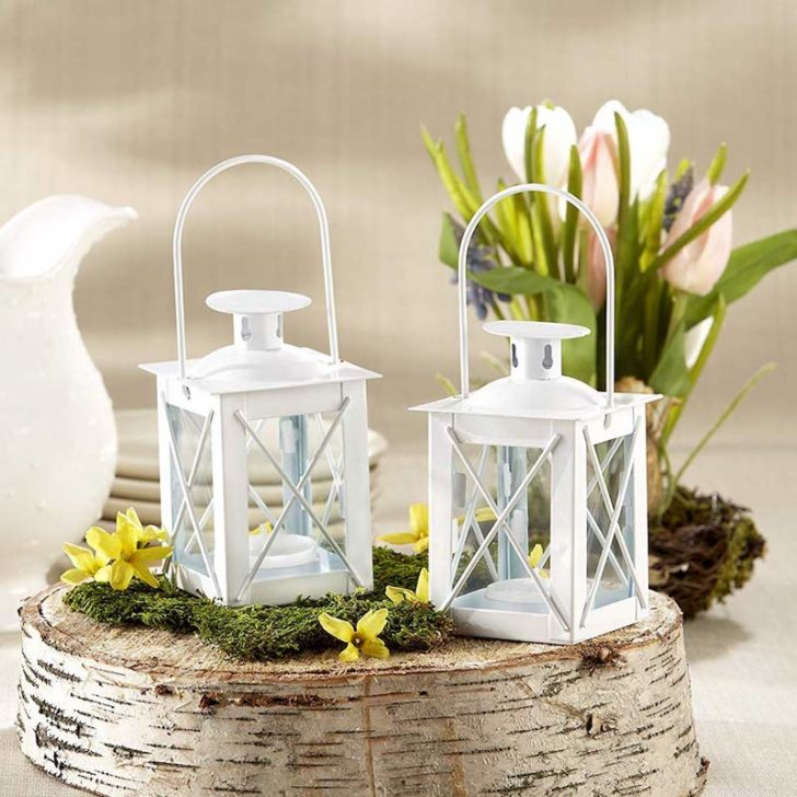 amazon wedding decor - basic white lantern