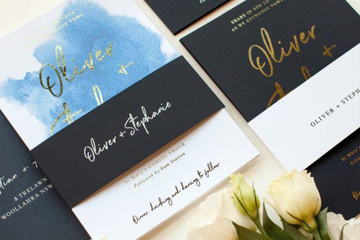 Moira H Wedding Invitation