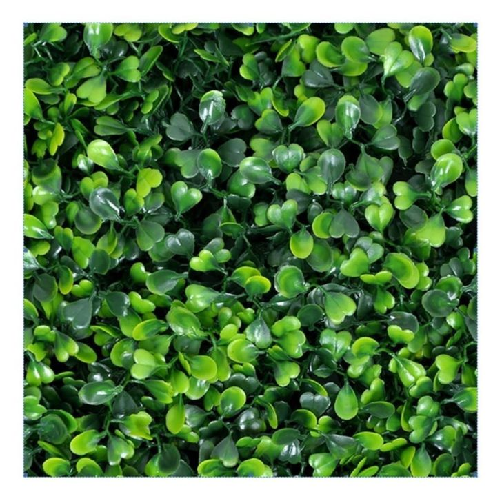amazon wedding decor - boxwood backdrop