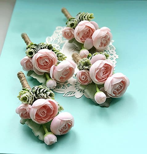 amazon wedding decor - wedding boutonnieres