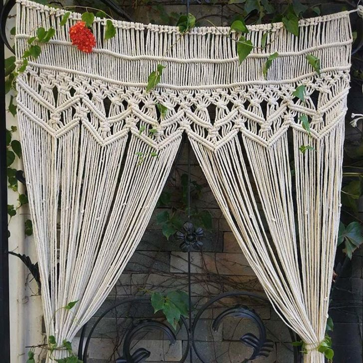 amazon wedding decor - boho curtains