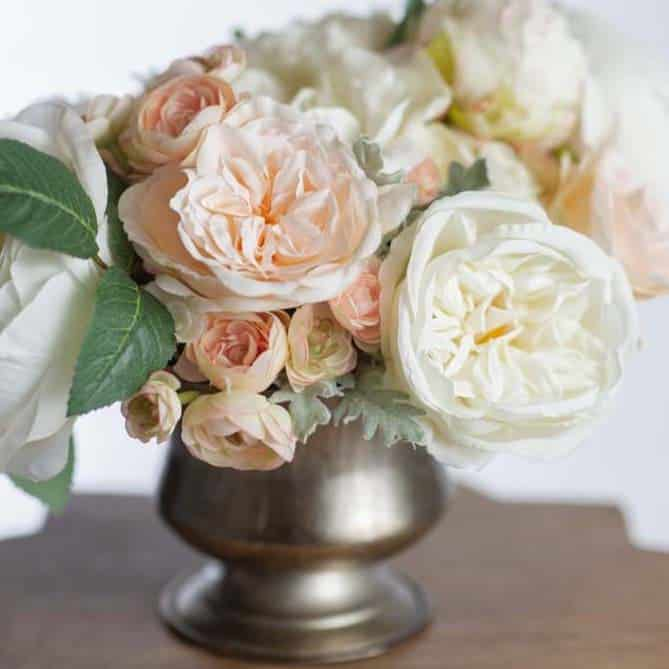 sophia centerpiece - something borrowed blooms