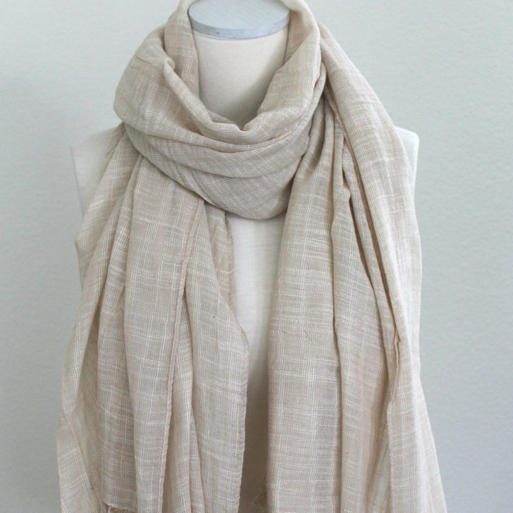 12thknit cotton scarf