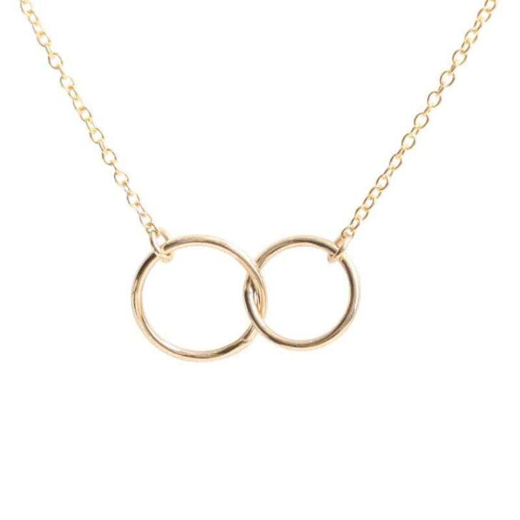 catbird rings necklace   Delicate Jewelry   Dainty Jewelry   Minimalist Wedding Jewelry