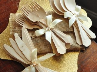 confetti mama party etsy wooden cutlery