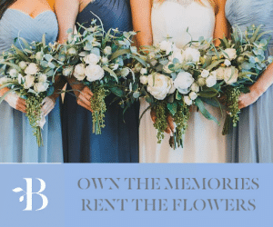 something borrowed blooms rent your wedding flowers
