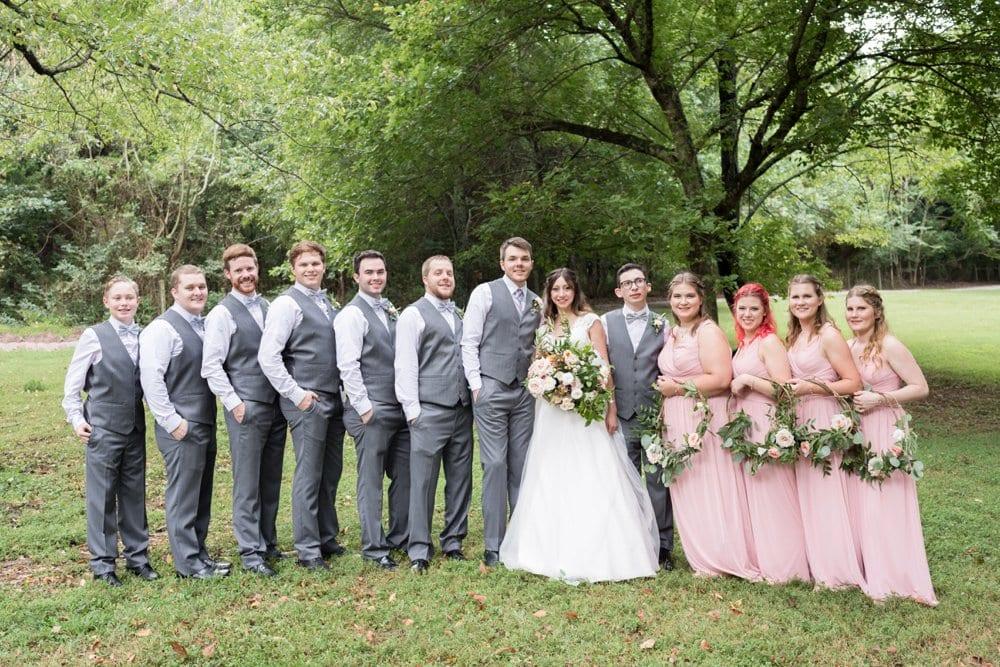Fairytale Park Wedding