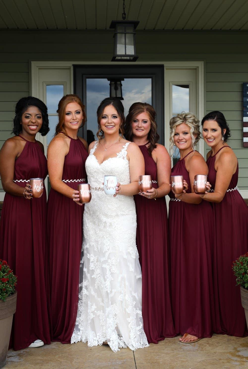 Rustic Glam Backyard Wedding