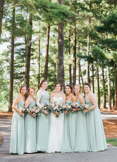 kennedy blue affordable bridesmaids dresses