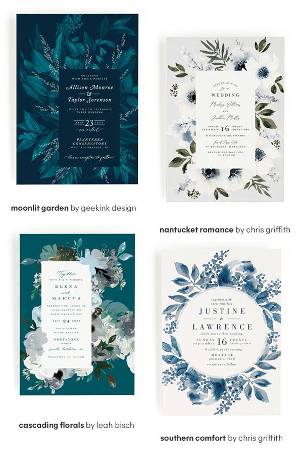 Minted Wedding Invitations - Wedding Design Trends