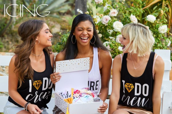 bachelorette party on a budget with ICING