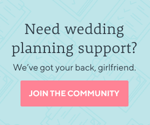 Join our wedding planning support community
