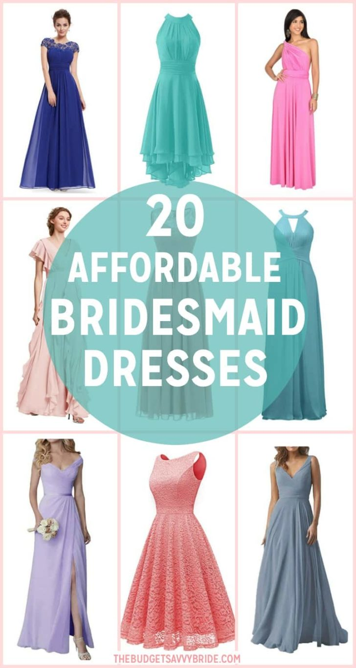 Affordable Bridesmaids Dresses from Amazon