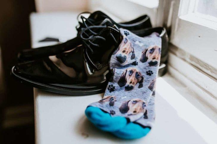 groom's socks