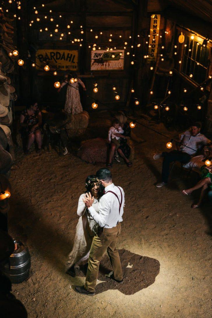 boho desert wedding