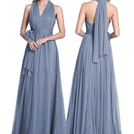 Convertible Tulle Wedding Bridesmaid Dresses By Dresspic