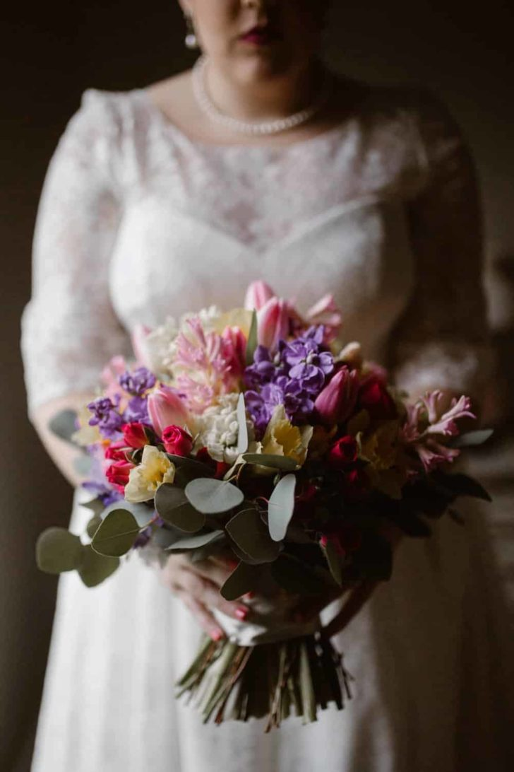 Vintage Colorful Wedding
