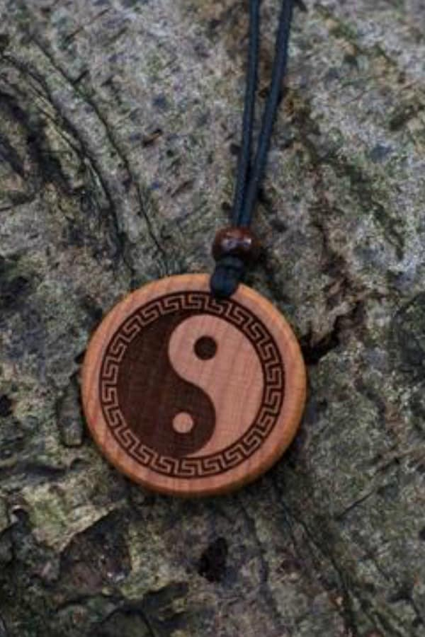 5th wedding anniversary gift idea - YIN YANG NECKLACE  By TrendySnake on Etsy