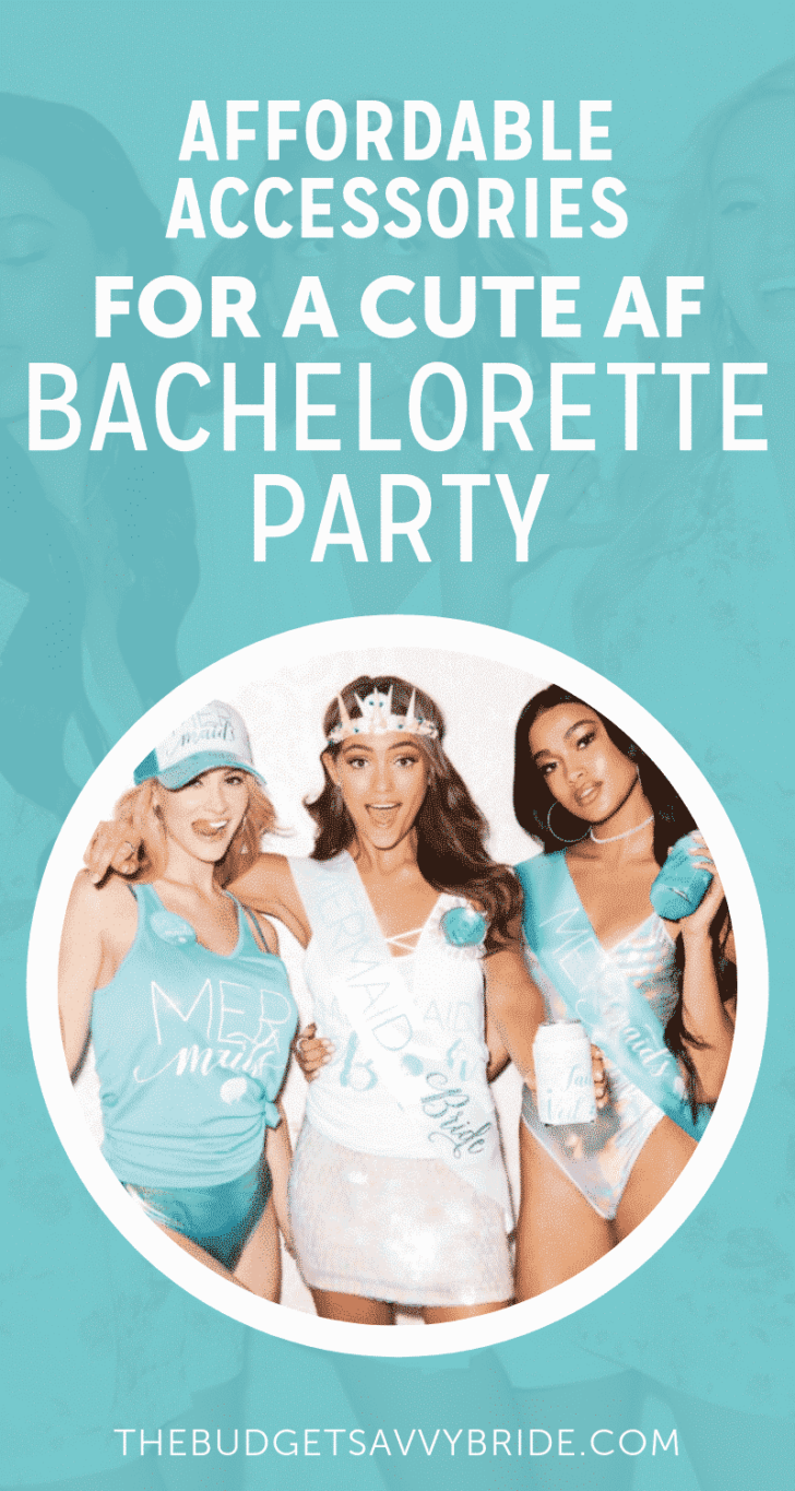 affordable accessories for bachelorette party