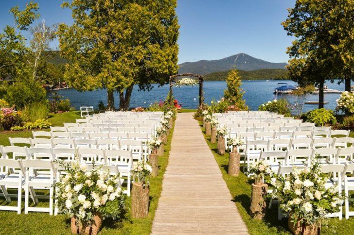 lakeside wedding non-traditional venue