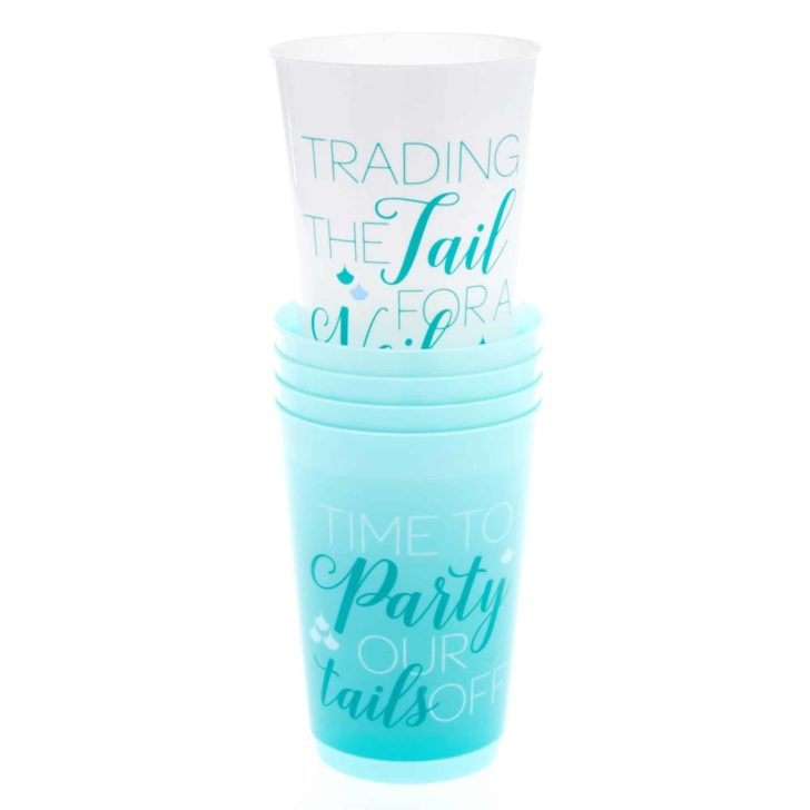mermaid cups