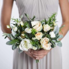 olivia bridesmaids bouquet - something borrowed blooms