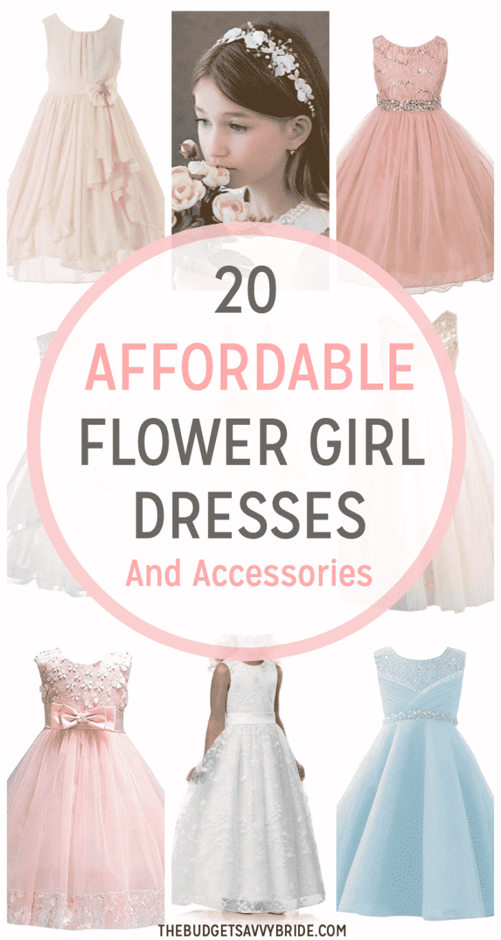 Affordable Flower Girl Dresses and Accessories from Amazon