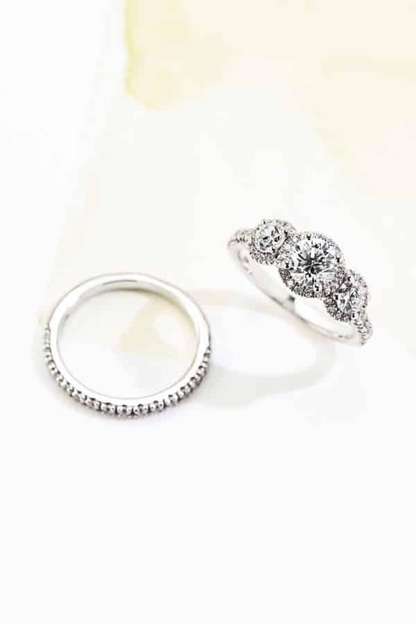 Amabella Wedding Set - Lab Grown Diamond Engagement Rings - MiaDonna