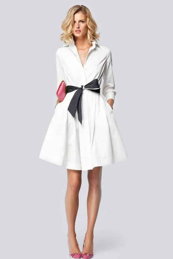 BUTTON DOWN SHIRT DRESS By PureCoutureAtelier